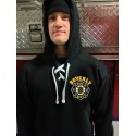 Beverly Fire - Old Style Lace Up Hooded Sweatshirt - Hockey