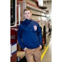 Boston Fire Department Landmark Moisture Wicking Pullover