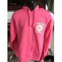 Pink Boston Fire Landmark Fleece Hoodie
