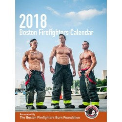 2018 Boston Firefighters Burn Foundation Firefighter Calendar