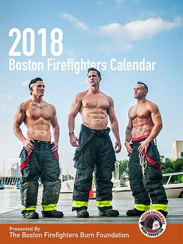2018 Boston Firefighters Burn Foundation Firefighter Calendar