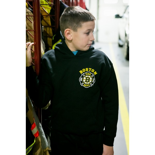 Youth Hooded Sweatshirt - Hockey