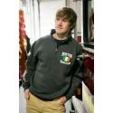 "Irish Flag + Shamrock - 1/4"" Zip Sweatshirts"