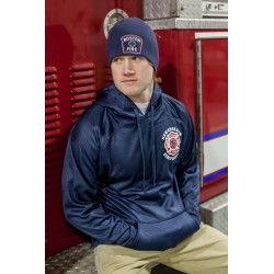 New England Firefighters - Polyester Fleece Hoodie