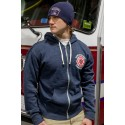 New England Firefighters - Full Zip Fleece Hoodie