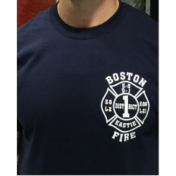 Boston Fire Department District 1 Long-Sleeve T