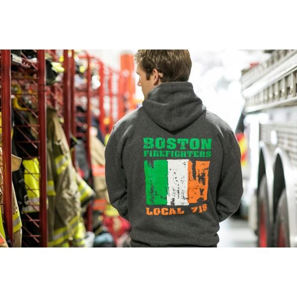 Irish Design Local 718 – Hooded Sweatshirt