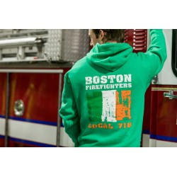 Boston Firefighters Irish Local 718 Hooded Sweatshirt