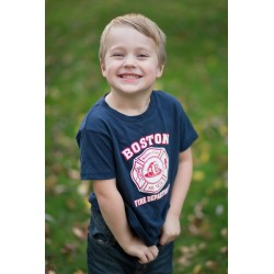 Boston Fire Toddler Maltese Cross