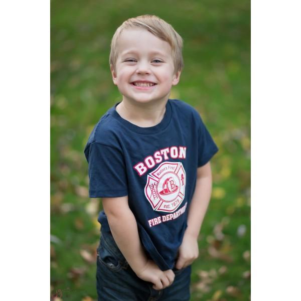 Boston Fire Toddler Maltese Cross