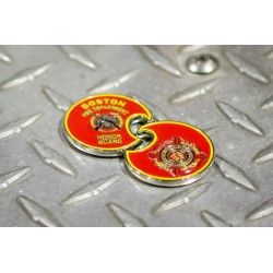 Boston Fire Honor Guard Challenge Coin