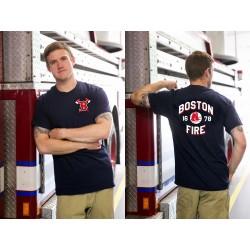 Boston Fire Baseball 1678 - Short Sleeve