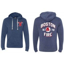 Boston Fire Baseball 1678 - Pullover Fleece Hoodie