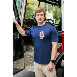 Boston Fire Football Moisture Wicking Short-Sleeve Tee