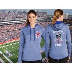 Boston Fire Football Ladies Hoodie