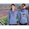 Boston Fire Football Ladies Hoodie