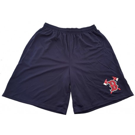 Boston Fire Baseball Shorts Ax Design