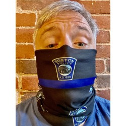 Boston Police Face Covering / Neck Gaiter