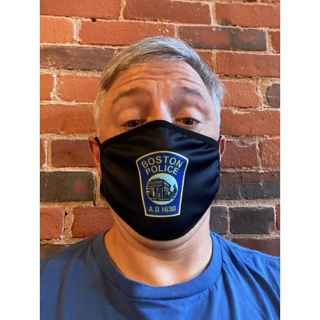 Boston Police Face Masks