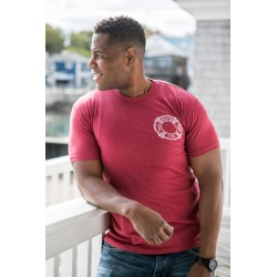BFD Adult Distressed Flag Short Sleeve Tee's