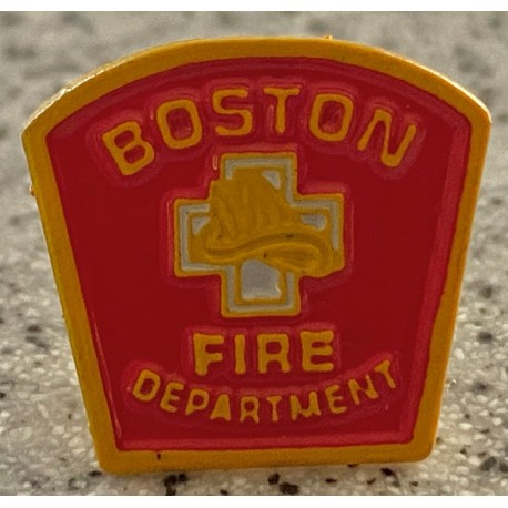Boston Fire Department Pin