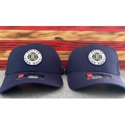 Structured BFD Under Armour Adjustable Navy Caps