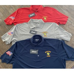 Boston Fire Department Polos