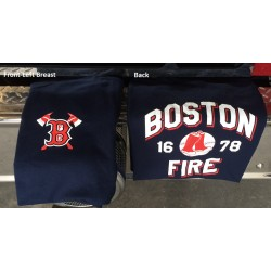 Youth Boston Fire Baseball 1678 - Short Sleeve