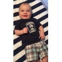 Infants / Toddlers Navy Blue Short Sleeve Shirt - Station