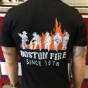 Boston Fire Athletic Tee's - Short Sleeve T-Shirt