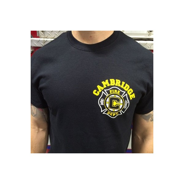 Cambridge Fire - Adult Short Sleeve Shirt - Hockey