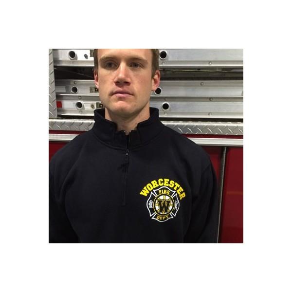 Worcester Fire - 1/4 Zip Sweatshirts - Hockey