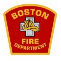 "2"" Helmet Decal Boston Fire Department - No Quantity Discount"