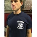 Technical Rescue Design - Navy Blue Short Sleeve