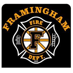 "Framingham 4"" Hockey Window Decal"