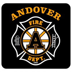 "Andover 4"" Hockey Window Decal"