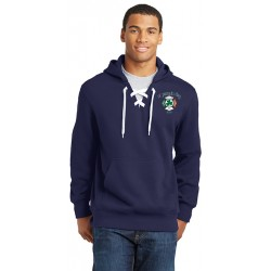 Fitchburg-Fire St. Patrick's Day 2020 Lace-up Hooded Sweatshirt