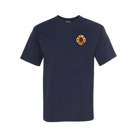 PFFM Adult Short-Sleeve Tee's - Navy Blue