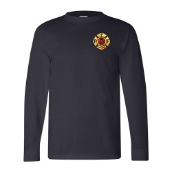 PFFM Adult Long-Sleeve Tee's - Navy Blue