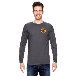 PFFM Adult Long-Sleeve Tee's - Charcoal