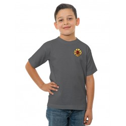 PFFM Youth Short-Sleeve Tee's - Charcoal