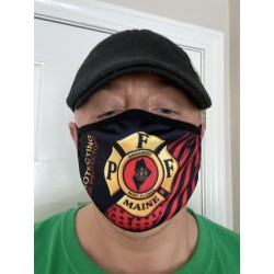 PFFM Adult + Youth Masks: Protecting the Protectors (red flag)