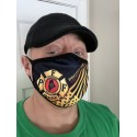 PFFM Adult + Youth Masks: Protecting the Protectors (gold flag)