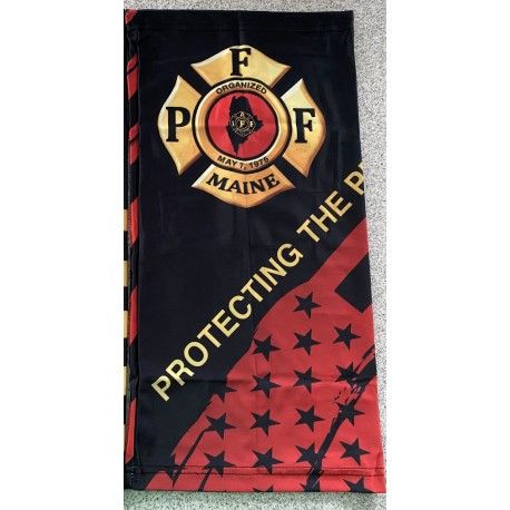 PFFM Adult + Youth Gaiters: Protecting The Protectors (red flag)