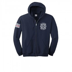 South Media Engine 51 - Rescue 51 Zip-Up Hooded Sweatshirts