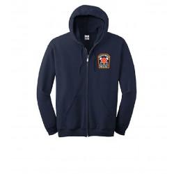 South Media Fire Company Station Zip-Up Hooded Sweatshirts