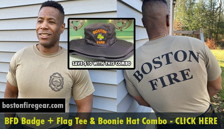 BFD Badge + Flag Tee & Boonie Hat Combo